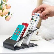 4 quadro tv/dvd passo suporte de armazenamento controle remoto titular do telefone móvel organizador de mesa cd
