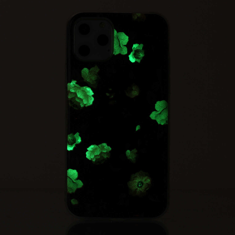 Rosa en negro luminoso TPU Shell para estojo Samsung A11 sFor Samsung Galaxy estojo M11 Hoesje patrón casos celular galexi