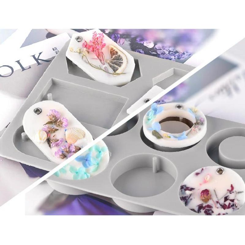 2019 DIY Silicone Candles Aromatherapy Wax Mould Cerative Soap Flowers Mold Clay Crafts Ornaments Mould Silicone Soap Mold Wax