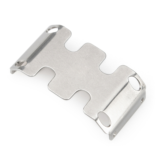 Stainless Steel Chassis Armor Guard Plate for Axial SCX24 90081 Skid Plate Guard Protector for Axial SCX24 90081 RC Model Car