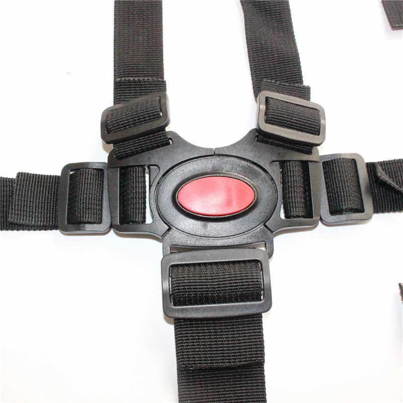 Universal Baby 5 Point Harness Safe Belt Seat Belts For Stroller High Chair Pram Buggy Children Baby Belt Stroller Accessories