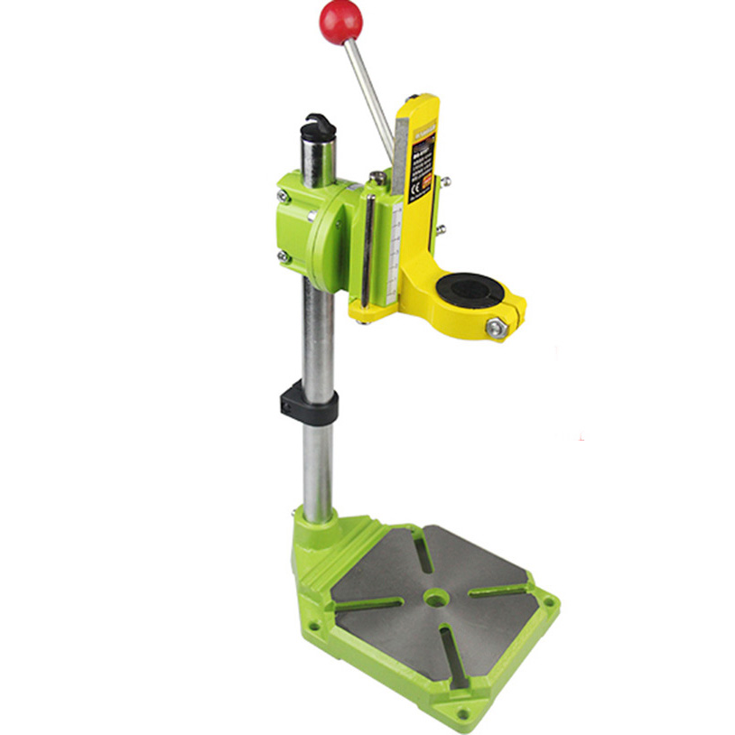 90 Degree 400mm Rotate Fixing Bracket Bench Holder 38-43mm Multi-Function Electric Drill Stand for Drilling Grinding Polishing