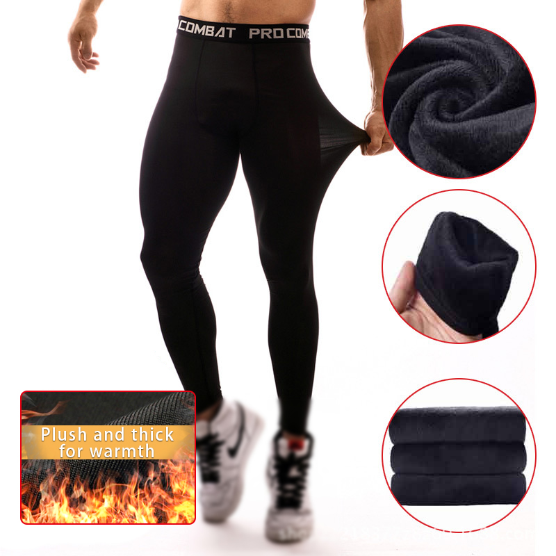 Compression Pants Mens Leggings Tights Men Sport Pants Fitness Sports Leggings Man Running Pants Compression Men Jogging Pants
