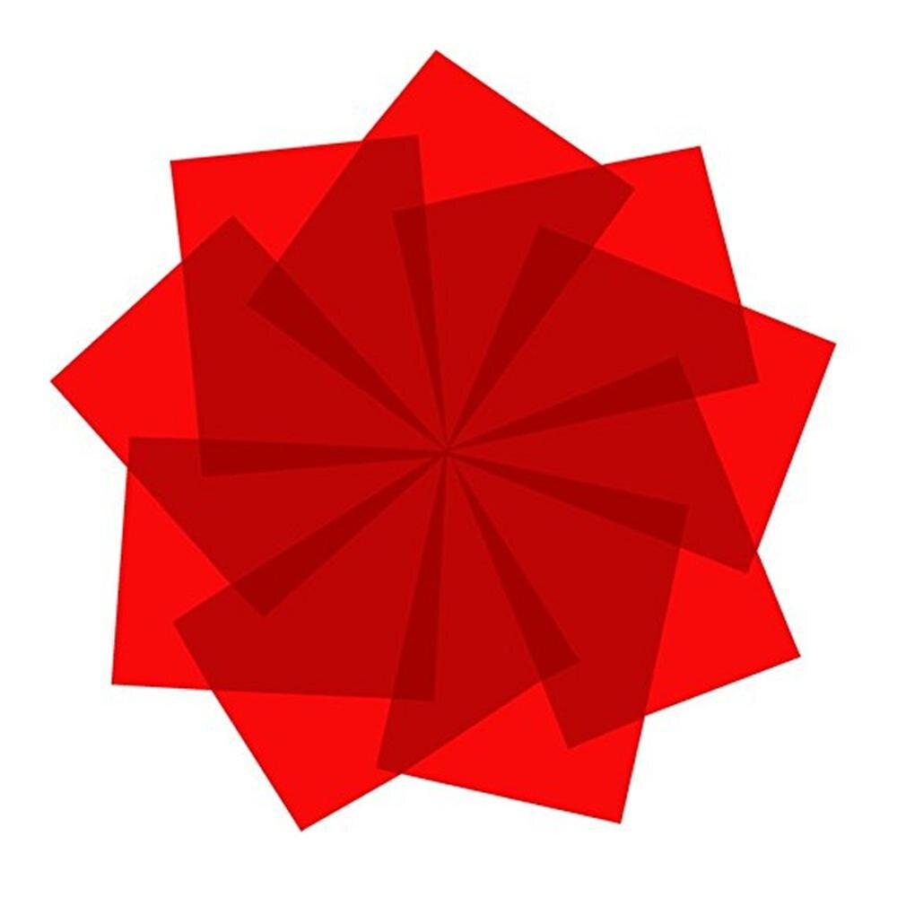 2 шт. 10 × 10 см подойдет при температуре не ниже 0 градусов красные, синие фиолетовый серый Цвет поляризационная пленка листов, линейной поляри...