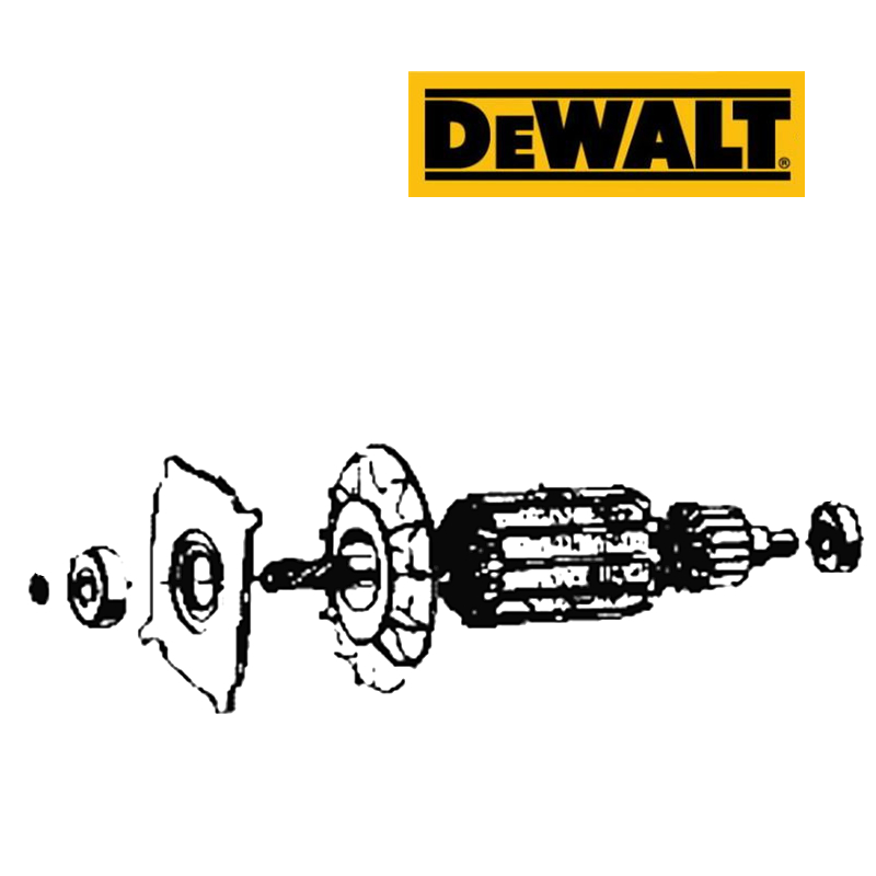 DeWALT Armature Rotor For DW849 448519-10 220-240V Power Tool Accessories Electric tools part