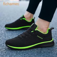 Sneakers Summer Fabric Casual-Shoes Lightweight Comfortable New Mesh Walking Plus-Size