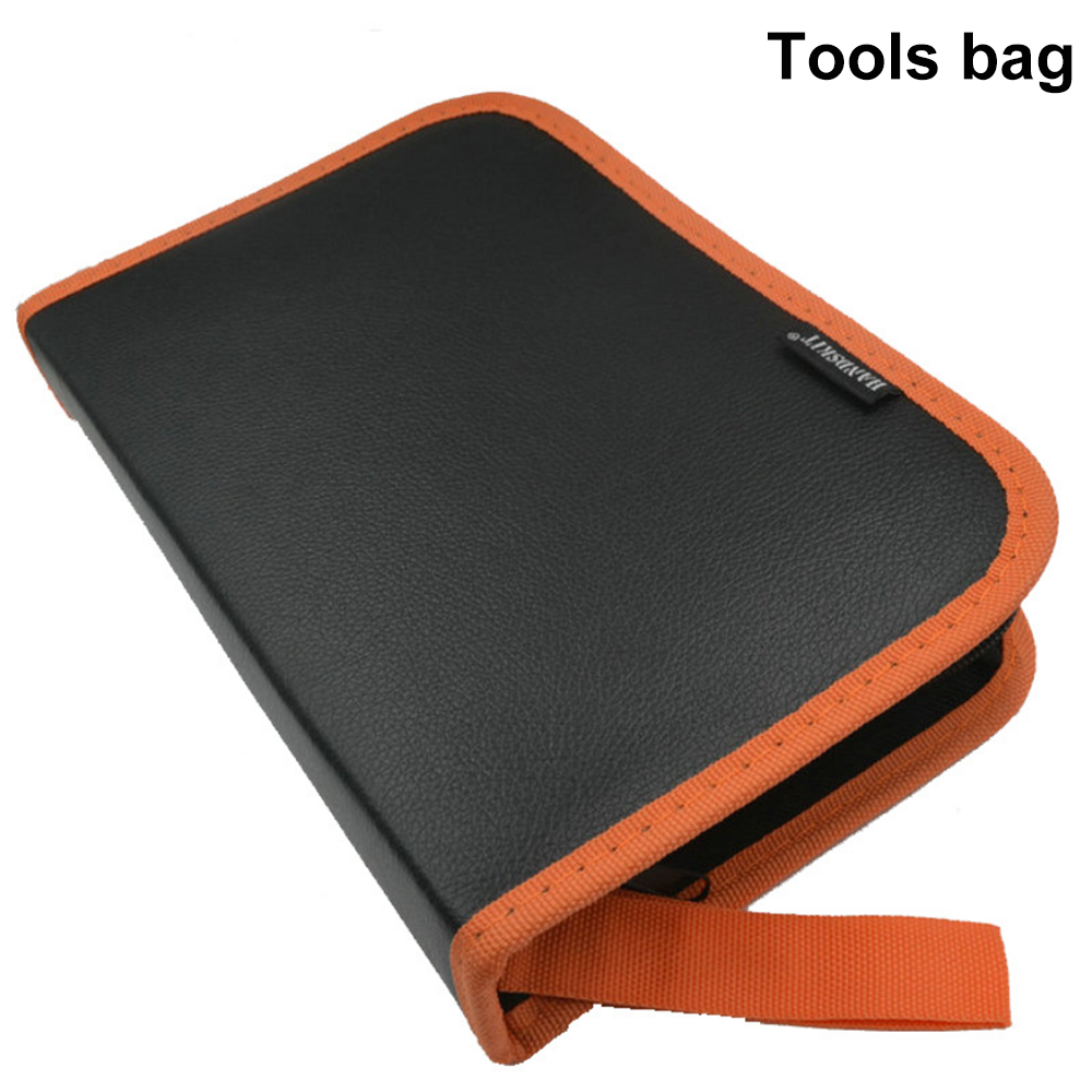 High Quality Tool Bag Multifunction Orange Black Oxford Cloth Bag Durable Soft High Capacity Case For Soldering Iron Kit|Tool Bags| |  - title=