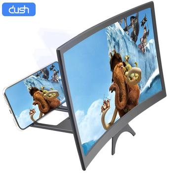 Душь L6 изогнутые Экран мобильный телефон усилитель, украшенное мозаикой из драгоценных камней, 12 дюймов расширяет поле зрения, защита глаз ...
