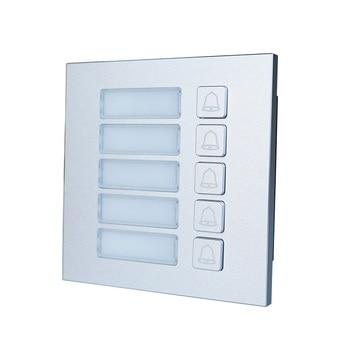 DHI-VTO4202F-MB5 Button Module for DHI-VTO4202F-P, IP doorbell parts,video intercom parts,Access control parts,doorbell parts komori parts