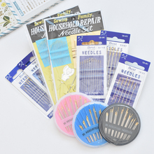1 pack Stainless Steel sewing needles pins for Needlework Home DIY Crafts Househ