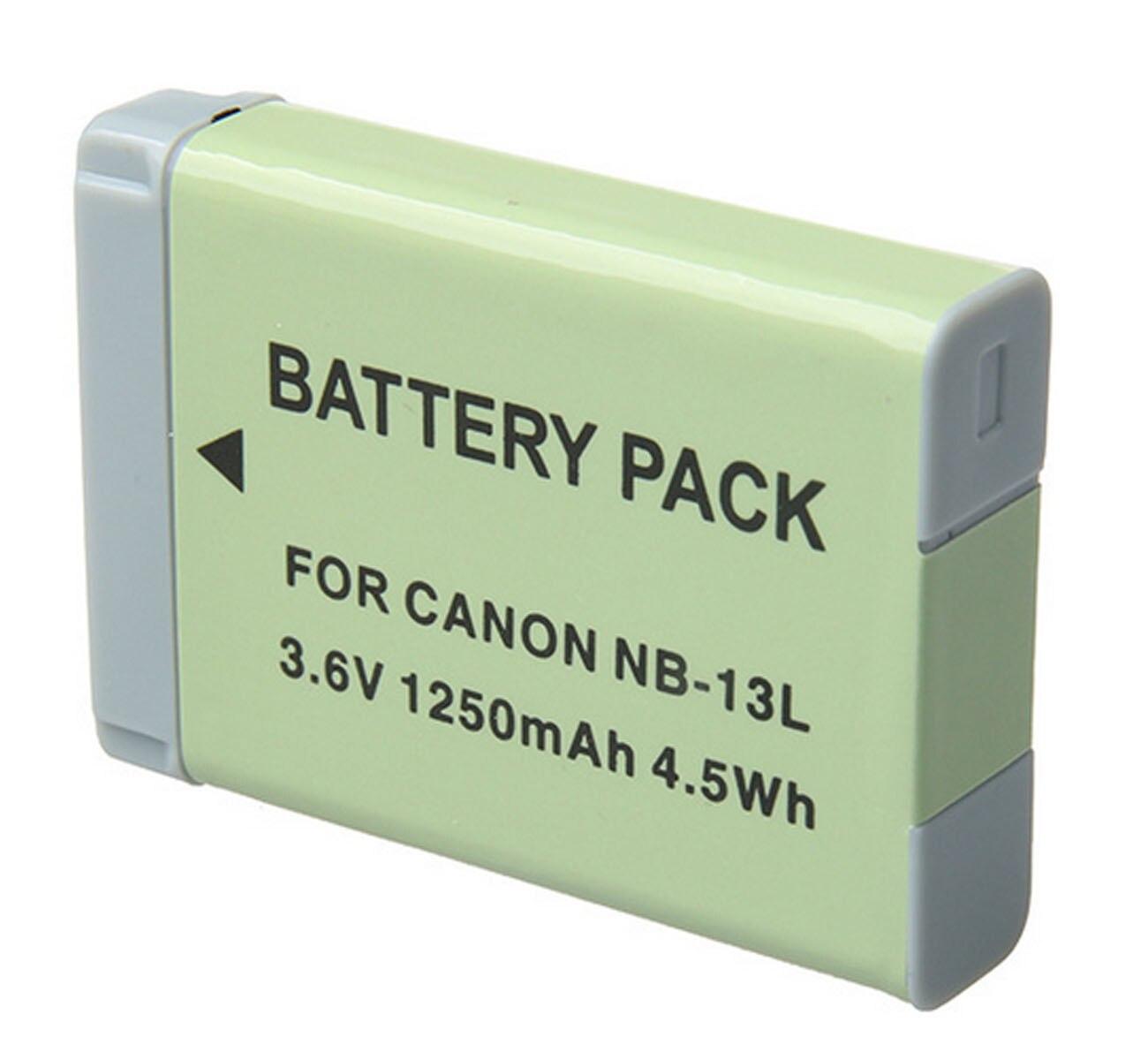 NB-13L Battery Pack For Canon PowerShot SX620, SX720, SX730, SX740 HS, SX620HS, SX720HS, SX730HS, SX740HS Digital Camera