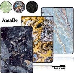 Imprimer pour Huawei Media Pad T5 10 AGS2-L09/W09/L03-plastique marbre motif coque rigide housse de protection
