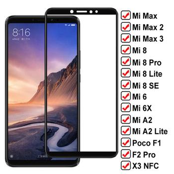 Szkło ochronne 9D dla Xiaomi Mi max 2 3 Poco F1 F2 Pro X3 NFC ochraniacz ekranu na Mi 6 6X A2 8 Lite Mi8 SE szkło hartowane tanie i dobre opinie SERBGW CN (pochodzenie) Folia na przód Poco F2 Pro Mi 8 Lite Mi 8 Pro max 3 MI 8 SE Xiaomi A2 Bez obsługi BD Lustro Film