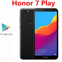 Globale Rom Honor 7 Spielen Y5 Prime 2018 4G LTE Android Telefon 2GB RAM 16GB ROM 13,0 MP MTK6739 Quad Core 5.45