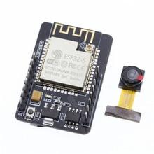 ESP32 CAM ESP32 CAM OV2640 ESP32 moduł kamery dla Arduino WiFi ESP32 CAM szeregowy do rozwoju pokładzie 5V moduł Bluetooth WiFi