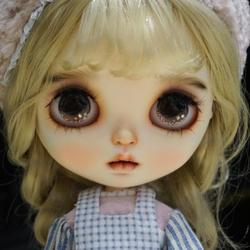 neo Blyth Doll NBL 1/6 BJD Customized Frosted Face,big eyes Fashion girl makeup Ball Jointed Doll with Live texture