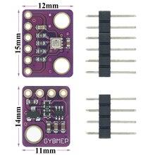 10 unids/lote BME280 Sensor Digital de humedad temperatura módulo con Sensor de presión barométrica I2C SPI 1,8 5 V GY BME280