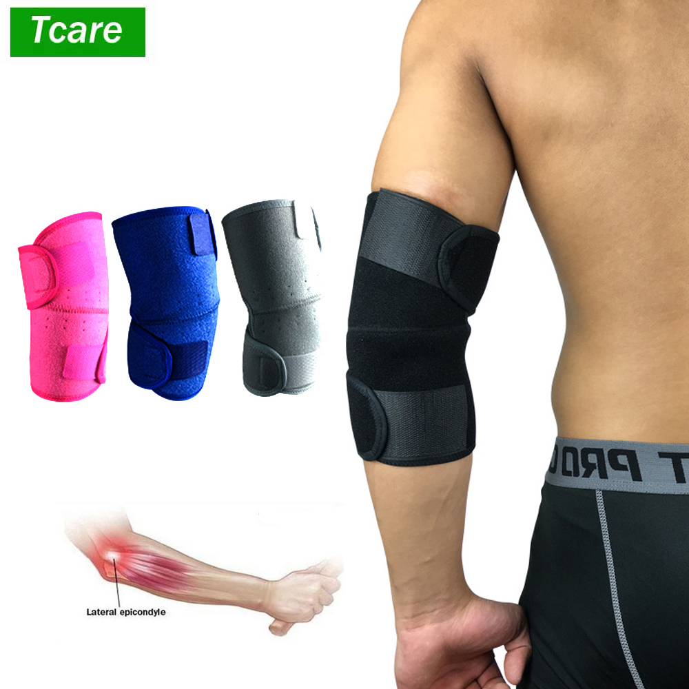 1Pcs Elbow Brace Compression Support Sleeve for Tendonitis Tennis Golf Elbow Treatment Reduce Joint Pain During ANY Activity