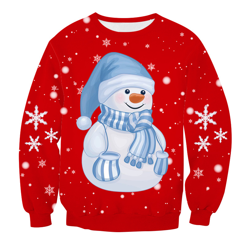Ugly Christmas Sweater 3D Hoodies Men's Sweater Men/women Sweater Men Autumn Winter Funny Vacation Pullover Men Clothes
