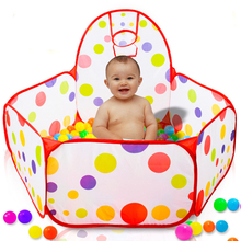 Play-House Ball-Pool Baby Portable Basketball-Ring Outdoor Children's Tent with Dry And