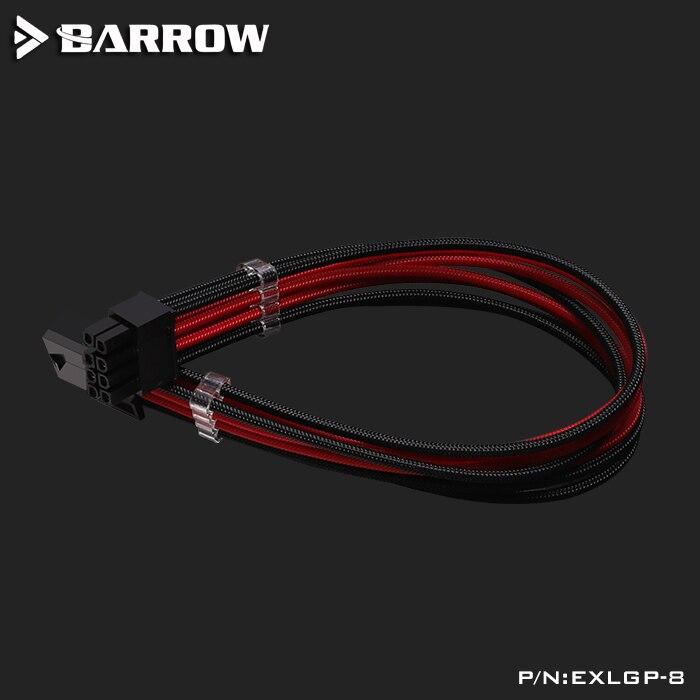 Кабель-удлинитель для мужчин и женщин используется для 24Pin материнской платы/8Pin cpu/8Pin GPU/18AWG кабель передачи/длина 30 см