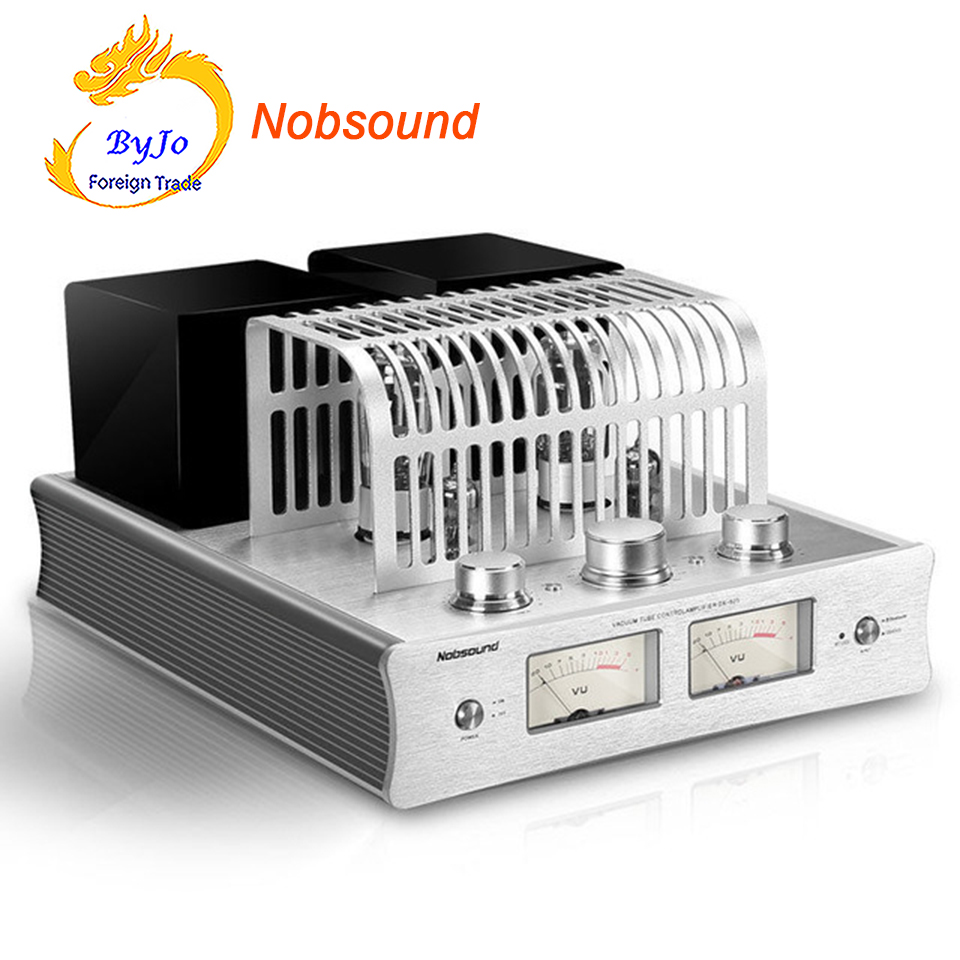 Nobsound DX-925 HiFi Power Amplifier electronic <font><b>tube</b></font> Amplifier Bluetooth Amplifier HiFi Hybrid Single-Ended Class A Power <font><b>Amp</b></font> image