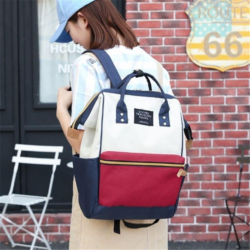 Quaslover Bag Large Capacity Baby Nappy Bag Designer Nursing Bag Fashion Travel Backpack Baby Care Bag for Mother Kid 2019