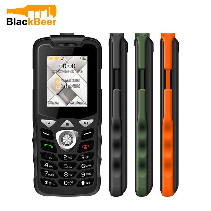 UNIWA W2026 2G GSM Feature Cellphone Unlocked Mobile Phone Torch Light Dual SIM Dual Standby Senior Mini Phone Button Key FM MP3