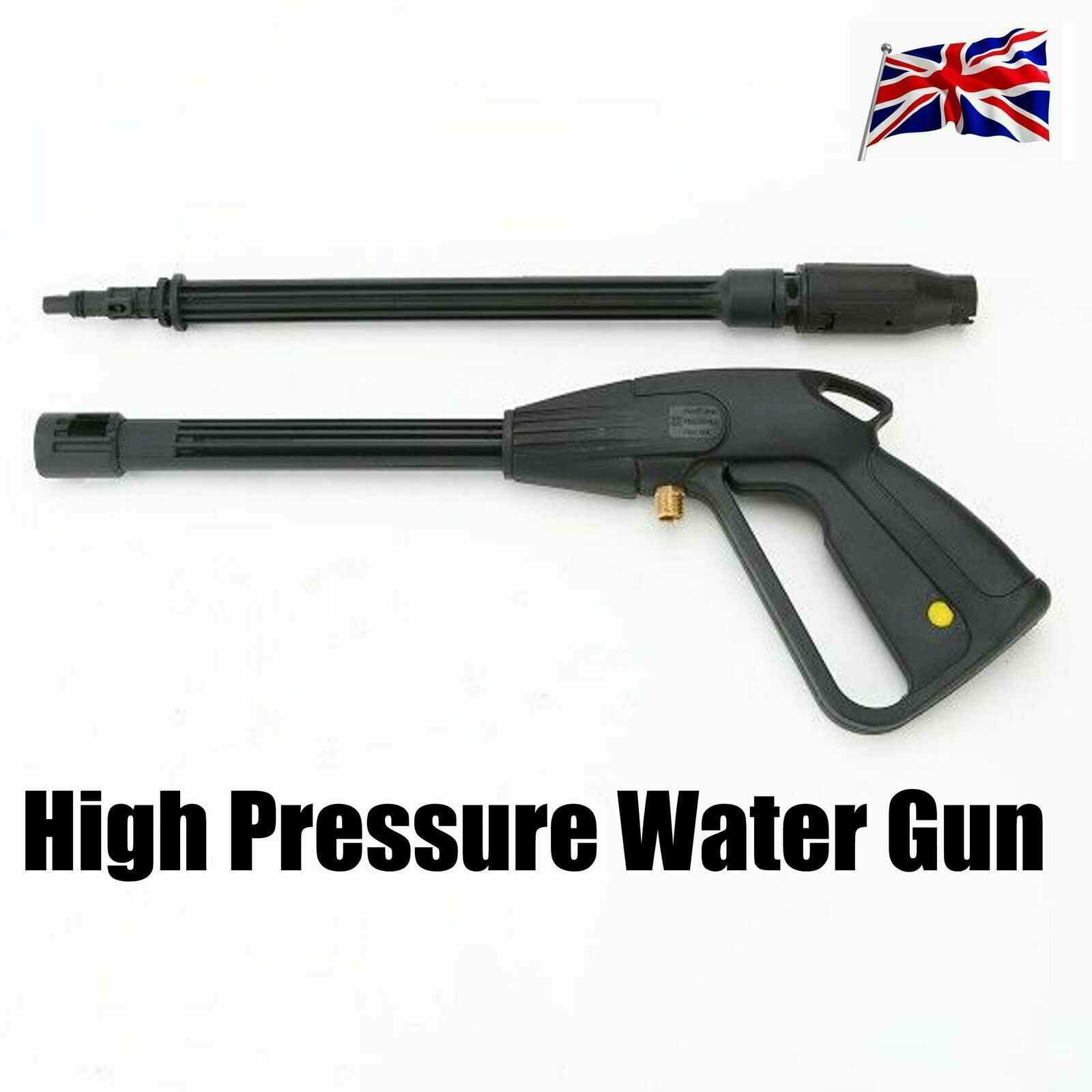 160 Bars High Pressure Washer Spray Gun Jet Lance Trigger Wash Water Hose Fast