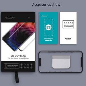 Image 5 - Nillkin verre pleine colle pour Huawei Mate 20 Pro P30 Pro Film protecteur décran verre trempé 9D 9H outils dinstallation gratuits