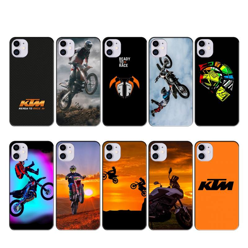KTM motor bicycle case coque fundas for iphone 11 PRO MAX X XS XR 4S 5S 6S 7 8 PLUS SE 2020 cases cover