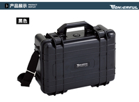 Shooting team tool box protective box safety box ABS with sponge waterproof