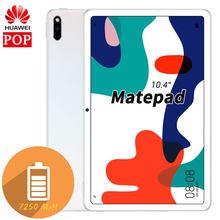 Huawei MatePad 10,4 zoll tablet PC kirin 810 Octa Core bildschirm Zusammenarbeit GPU Turbo Android 10 7250mAh Große batterie