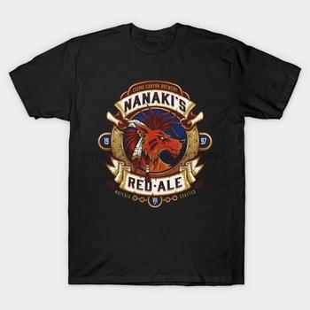 Camiseta para hombre Nanaki Red Ale Final Fantasy Vii camiseta estampada camisetas