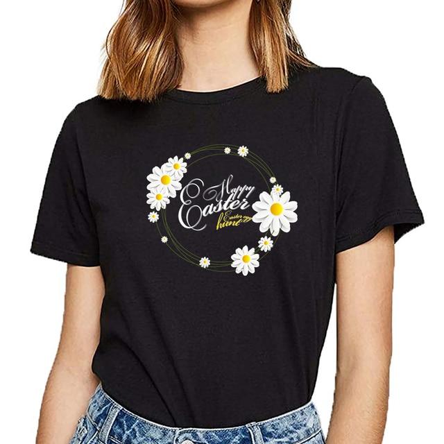 Happy Easter Female Tshirt 1