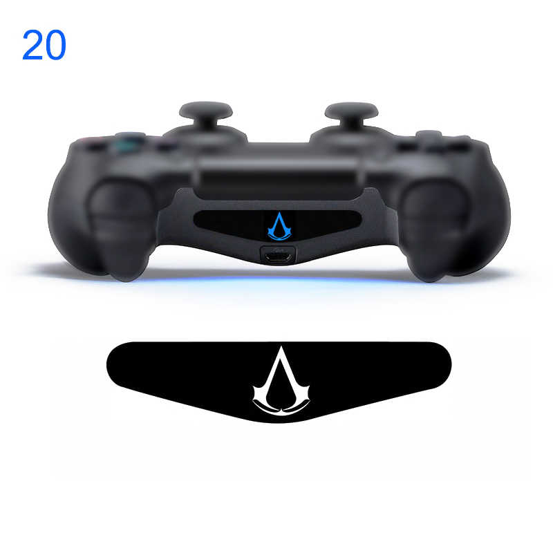Kustom 1 Buah Permainan Cahaya Bar Stiker Vinyl Decal Lightbar LED Cover untuk PlayStation DualShock 4 PS4 Pro Slim controller