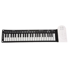 Multi Style Student Gift Children Flexible Folding Electronic Keyboard Roll-Up Piano Musical Instrument Portable Music 49 Keys