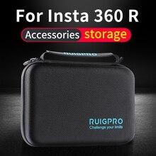 for Insta360 ONE R Storage Bag Protection Box Oner Panoramic camera Lens set Bag Portable oner Action Camera Accessory