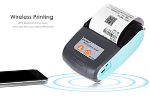 Image 5 - GOOJPRT PT210 Мини карманный беспроводной принтер, термопринтер чеков, Bluetooth, Android, iOS, поддержка телефона ESC / POS