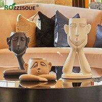 3PCS Human Face Flower Pot Set Creative Art Decoration Vase Decor Home Living Room Minimalist Crafts Pot Christmas Gift Ideas