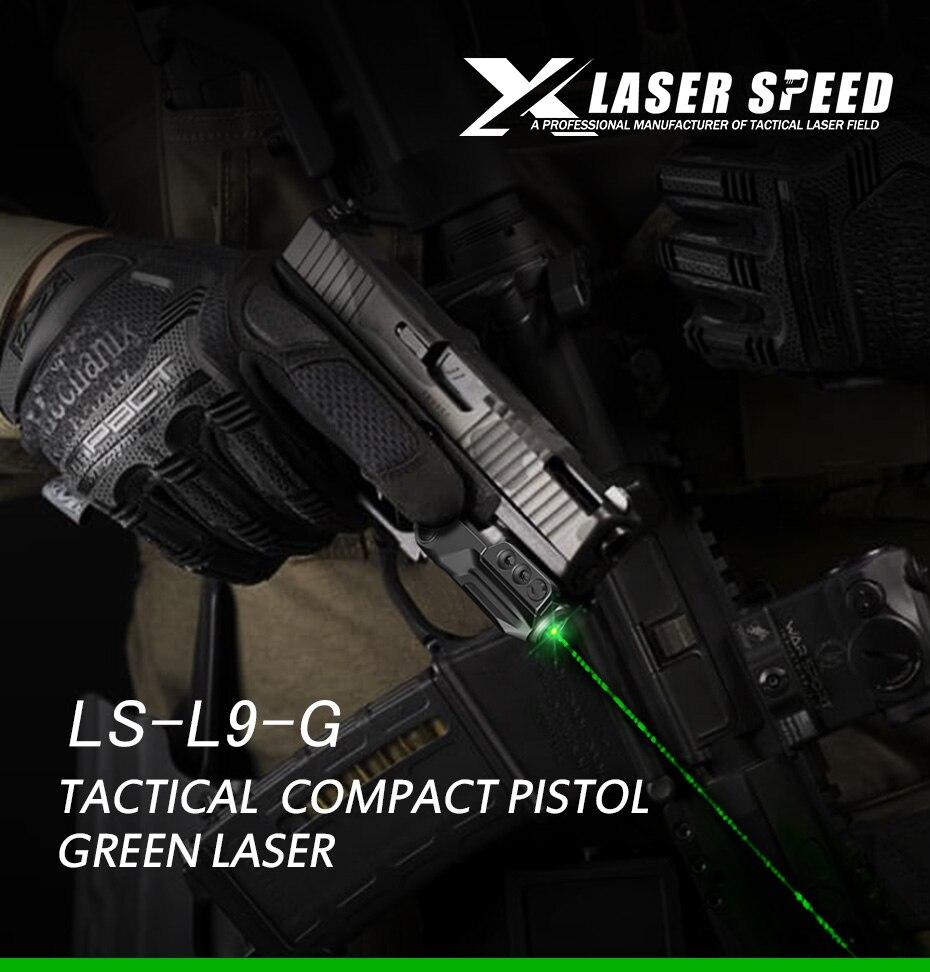 vermelho vista para pistola airsoft armas 20mm
