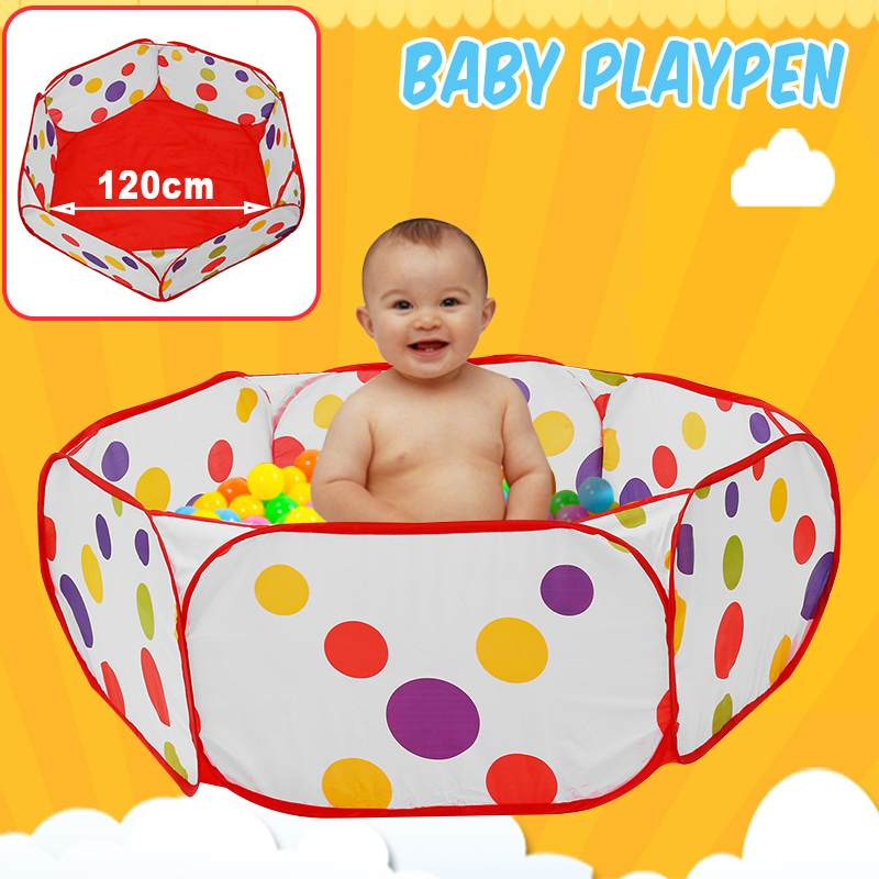 Foldable Ocean Ball Pit Baby Playpen Children Toy Tent Ball Pool Without Basket Outdoor Toy for Children Gaming Educational Toy
