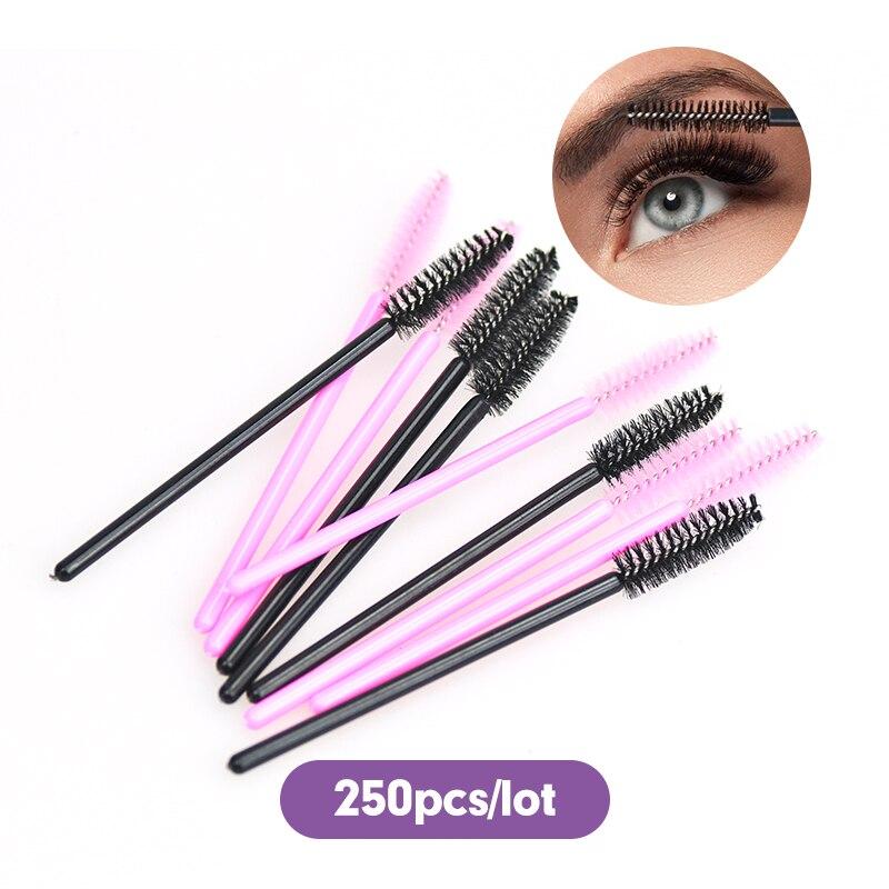 250-pz-lotto-pennello-di-colore-rosa-e-nero-per-ciglia-finte-fibra-sintetica-one-off-monouso-ciglio-make-up-pennello-applicatore-pennello