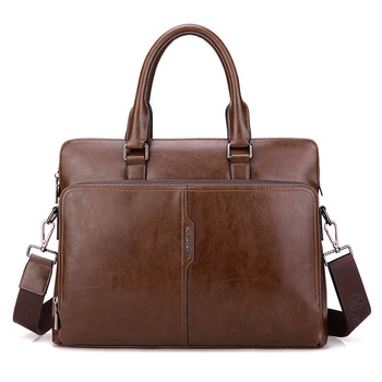Male Package Diagonal Handbag Cross Section Leisure Time Briefcase Business Affairs Computer leather laptop office bags for men mshg hong kong crocodile leather men handbag leisure business briefcase cross section men bag
