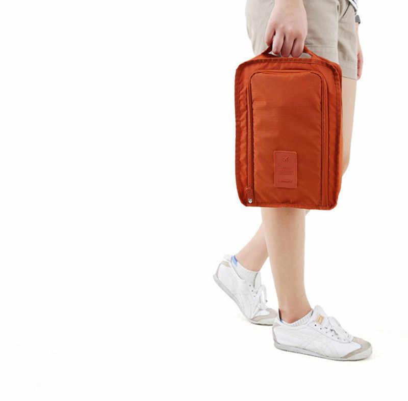 Wygodne wodoodporne buty torba na ubrania etui torba do przechowywania podróżna przenośny organizer na buty sortowanie etui Zip Lock przechowywanie w domu