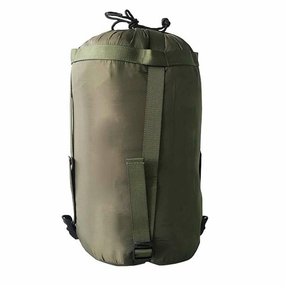 Camping Sleeping Bag Compression Pack Outdoor Hammock Storage Pack Portable Hiking Travel Camping Carry Bags With Drawstring Pure Whiteness