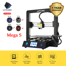 Anycúbico i3 mega s kit de impressora 3d atualizar i3 mega enorme construir rack de volume de metal rígido quadro fdm impressora 3d impressora impressora impresora 3d drucker