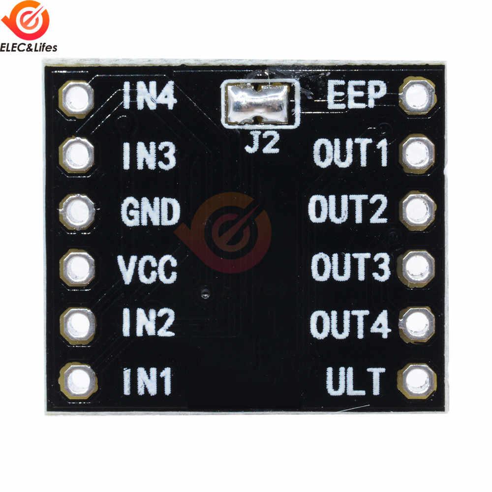 1.5A 3V 10V DRV8833 2 CH canal DC Module de pilote de moteur pas à pas boardh-bridge moteur de Protection contre les surintensités à court-Circuit à 4 fils