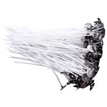 50 шт 6/8/10/12 сантиметров Хлопок фитиль бездымный фитиль свечи День рождения свечи волшебная свеча зажигания