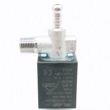 OLAB Италия Серия 6000-9000 AC 230V N/O G1/8' латунные кофейники паровой воздух вода 2 положения 2 способ нормально закрытый Соленоидный клапан